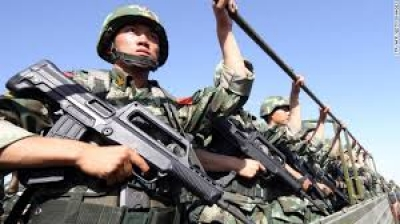 Chinese Soldiers. Photo: CNN