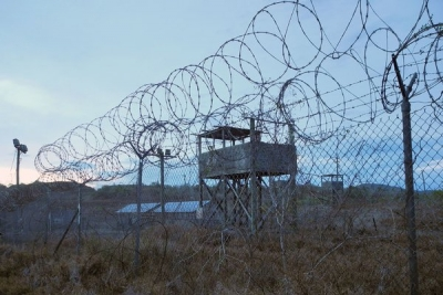 An abandoned section of the base in Guantánamo Bay, Cuba, where 155 prisoners remain, about half cleared for release. Photo: Chantal Valery/Agence France-Presse — Getty Images