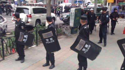 Security is tight in Urumqi, where ethnic tensions between Uighurs and Han Chinese continue