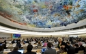 A meeting of the UN Human Rights Council in Geneva. Photo: AFP